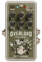 Pédale overdrive / distortion / fuzz Electro harmonix Nano Operation Overlord Allied Overdrive