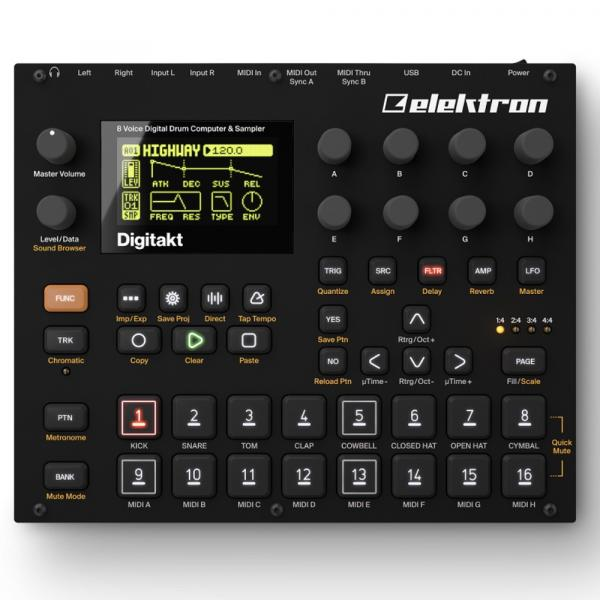 Sampleur / groovebox Elektron Digitakt
