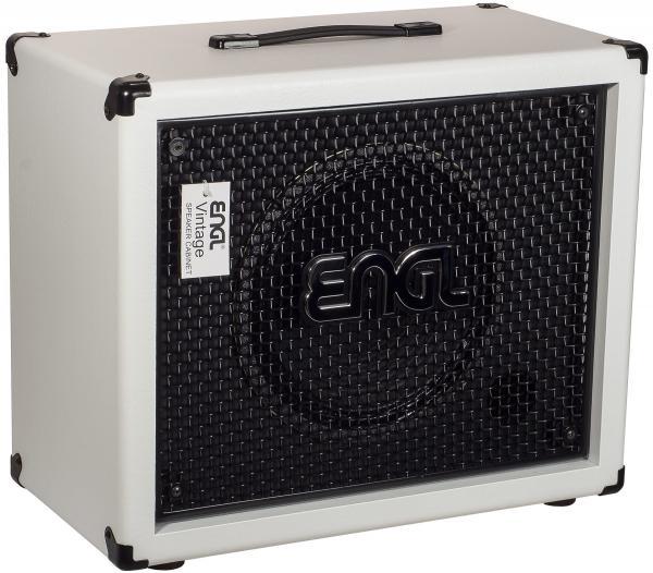 Engl E112vb 1x12 Pro Cabinet Straight White Electric