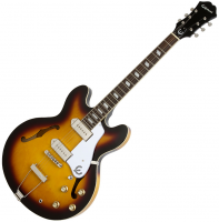 Guitare électrique hollow body Epiphone Casino - Vintage sunburst
