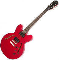 Guitare électrique hollow body Epiphone Dot Studio - Cherry