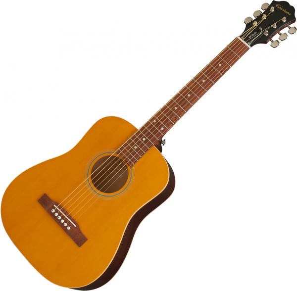 Guitare folk voyage Epiphone El Nino Travel Acoustic Outfit +Bag - antique natural