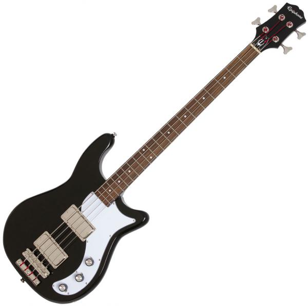 Basse électrique solid body Epiphone Embassy Pro Bass - ebony