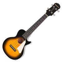 image Les Paul Acoustic/Electric Ukulele Outfit - Vintage sunburst