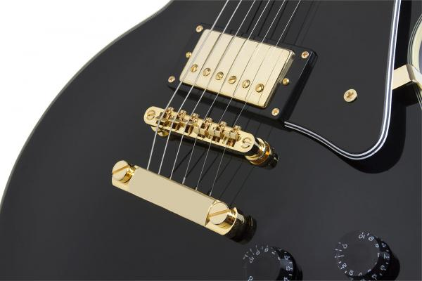Guitare électrique solid body Epiphone Les Paul Custom Pro - ebony