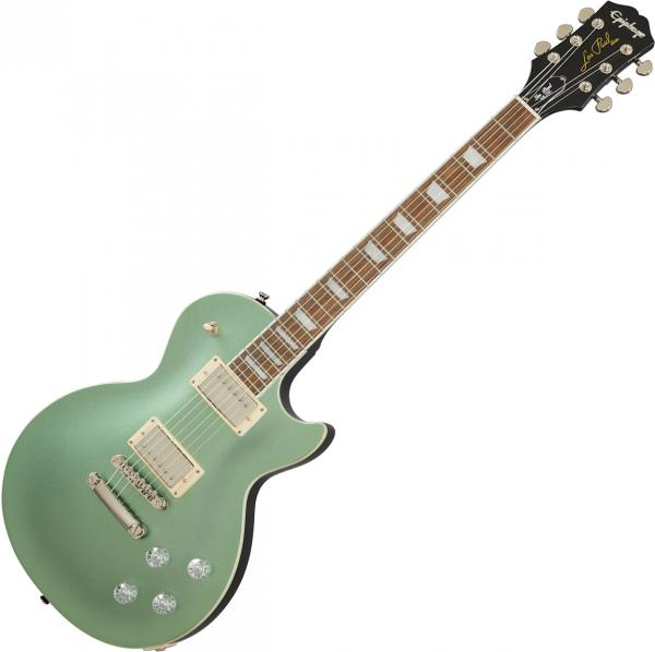 Guitare électrique solid body Epiphone Les Paul Muse Modern - Wanderlust green metallic