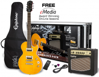 Pack guitare électrique Epiphone Slash AFD Les Paul Performance Pack - Appetite amber