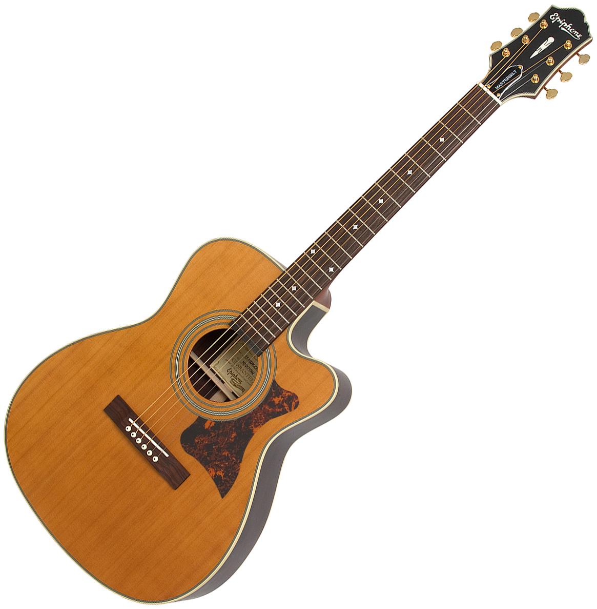 Guitare folk & electro Epiphone Masterbuilt EF-500RCCE ...