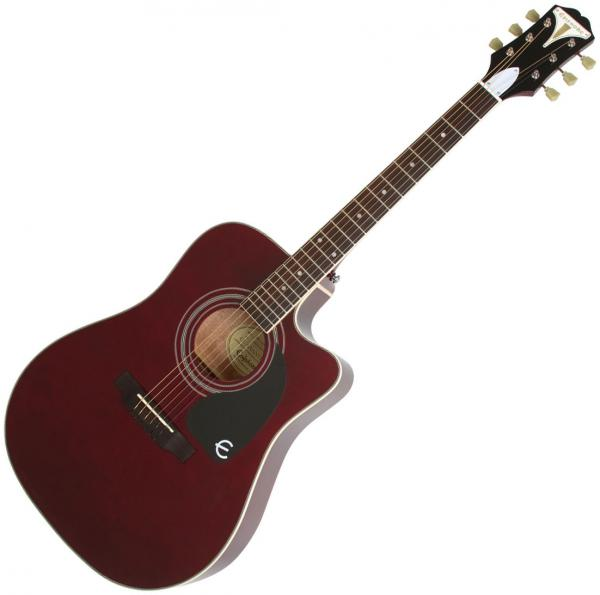 Guitare folk Epiphone PRO-1 Ultra Acoustic/Electric - wine red