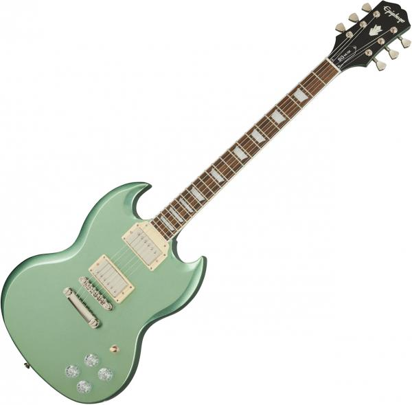 Guitare électrique solid body Epiphone SG Muse Modern - Wanderlust green metallic