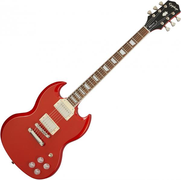 Guitare électrique solid body Epiphone SG Muse Modern - Scarlet red metallic