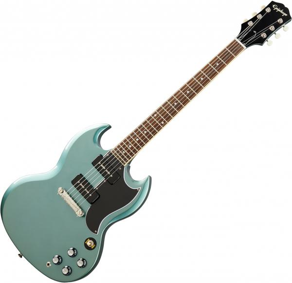 Guitare électrique solid body Epiphone SG Special P-90 Original - Faded pelham blue