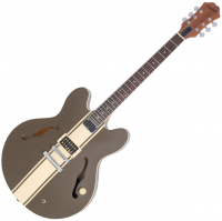 Guitare électrique hollow body Epiphone Tom Delonge ES-333 - Brown