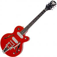 Guitare électrique hollow body Epiphone Wildkat Ltd - Wine red