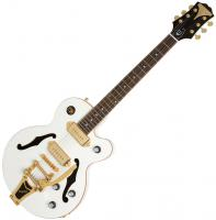 Guitare électrique hollow body Epiphone Wildkat Royale - Pearl white