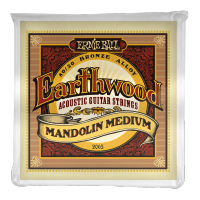 Cordes mandoline Ernie ball Mandoline (8) 2065 Earthwood Medium 10-36 - Jeu de cordes