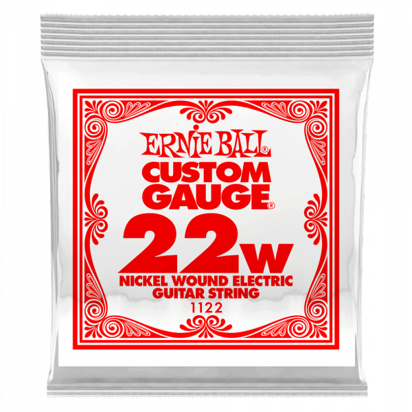 Cordes guitare électrique Ernie ball Electric (1) 1122 Slinky Nickel Wound 22w - Corde au détail