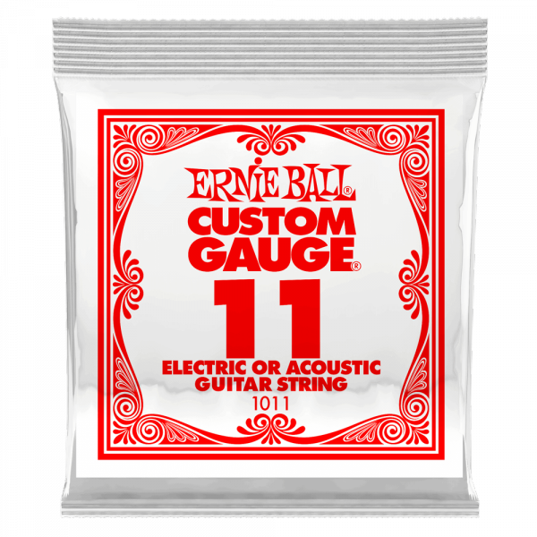 Cordes guitare électrique Ernie ball Electric / Acoustic (1) 1011 Slinky Nickel Wound 11 - Corde au détail