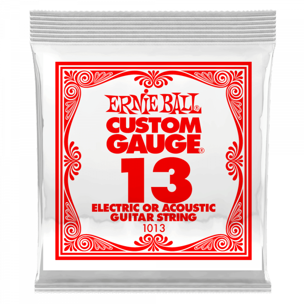 Cordes guitare électrique Ernie ball Electric / Acoustic (1) 1013 Slinky Nickel Wound 13 - Corde au détail