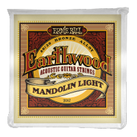 Cordes mandoline Ernie ball Mandoline (8) 2067 Earthwood Light  9-34 - Jeu de cordes