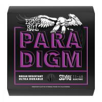 Cordes guitare électrique Ernie ball Electric (6) 2020 Paradigm Power Slinky 11-48 - Jeu de cordes