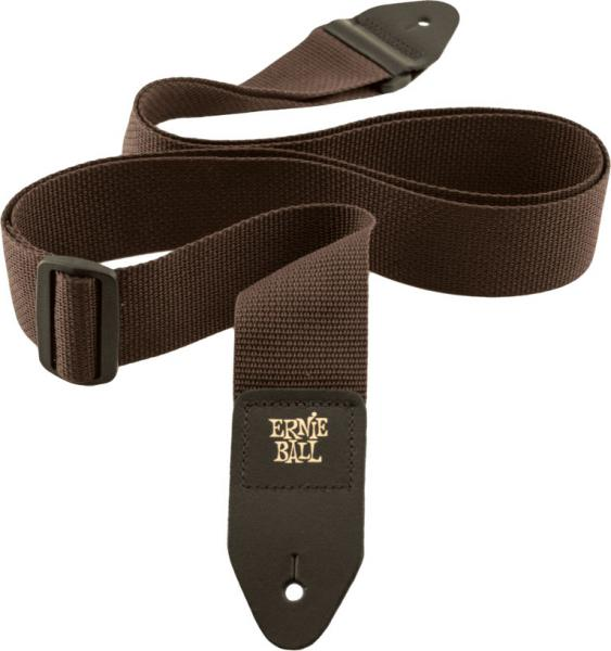 Sangle courroie Ernie ball Polypro Guitar Strap - Brown