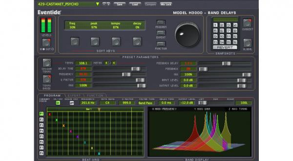 Plug-in effet Eventide H3000 Band Delays