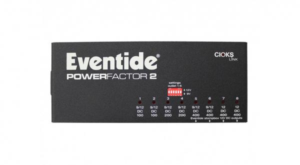 Alimentation Eventide Power Factor 2