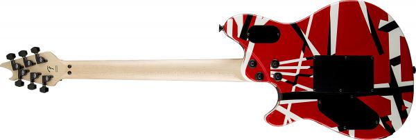 Guitare électrique solid body Evh                            Wolfgang Special Striped (EB) - red with black stripes