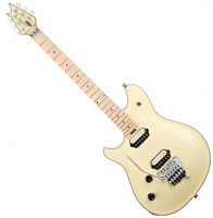 Guitare électrique solid body Evh                            Wolfgang USA Birdseye Maple Gaucher - Vintage white
