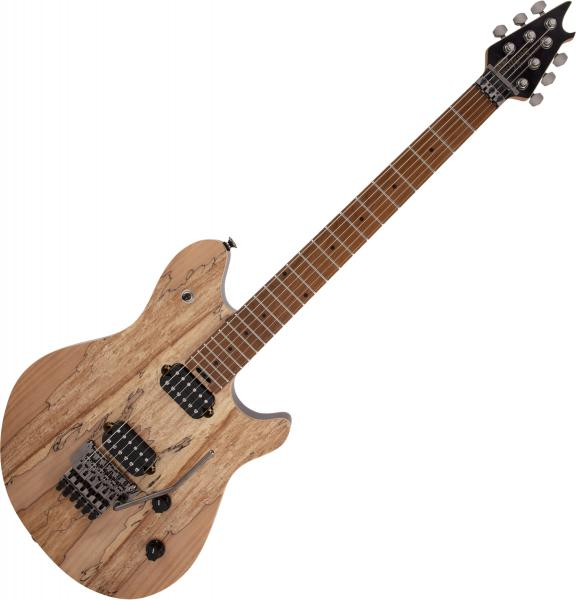 Guitare électrique solid body Evh                            Wolfgang WG Standard Exotic Spalted Maple - Natural