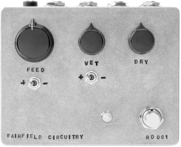Pédale eq. / enhancer / buffer Fairfield circuitry Hors d'Oeuvre? Active Feedback Loop