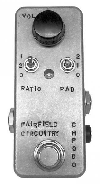 Pédale compression / sustain / noise gate  Fairfield circuitry The Accoutant