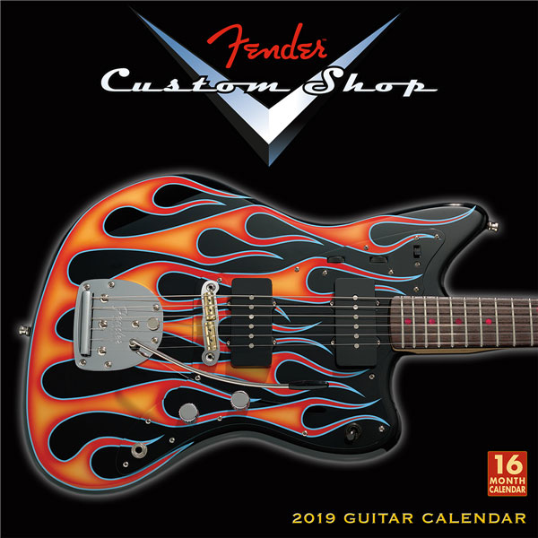 Calendrier Fender 2019 Custom Shop Wall Calendar