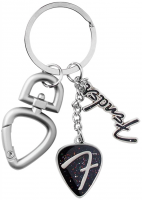 Porte-cle & pendentif Fender 3-Piece F Logo Keychain With Clip