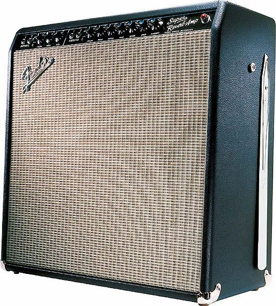 Combo ampli guitare électrique Fender '65 Super Reverb - Black