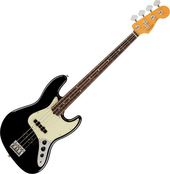 Basse électrique solid body Fender American Professional II Jazz Bass (USA, RW) - Black