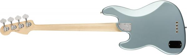 image American Elite Jazz Bass (USA, MN) - satin ice blue metallic