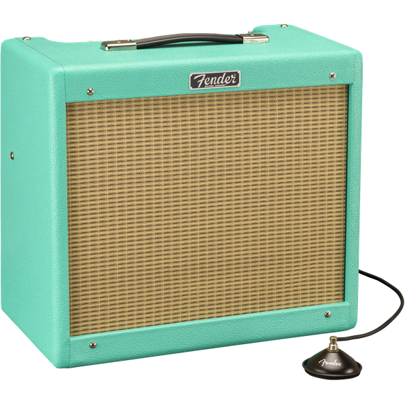 Combo ampli guitare électrique Fender Blues Junior IV FSR Celestion Creamback Surf Green