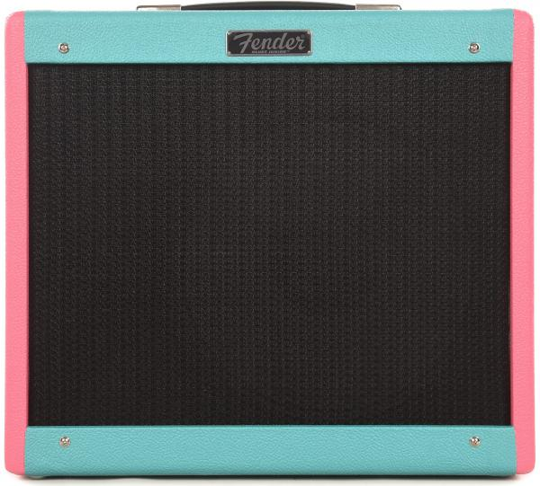 Combo ampli guitare électrique Fender Blues Junior IV LA Vice FSR Ltd - Seafoam Pink