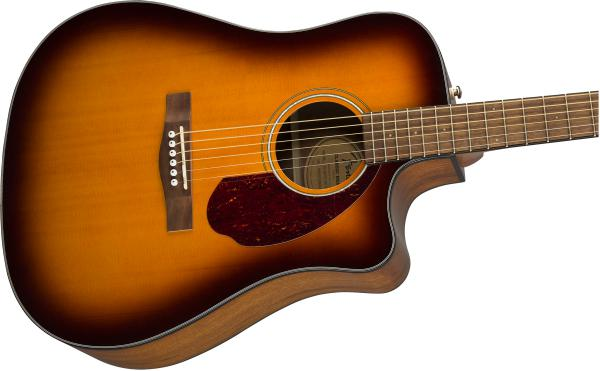 Guitare folk Fender CD-140SCE 2019 +Case - sunburst