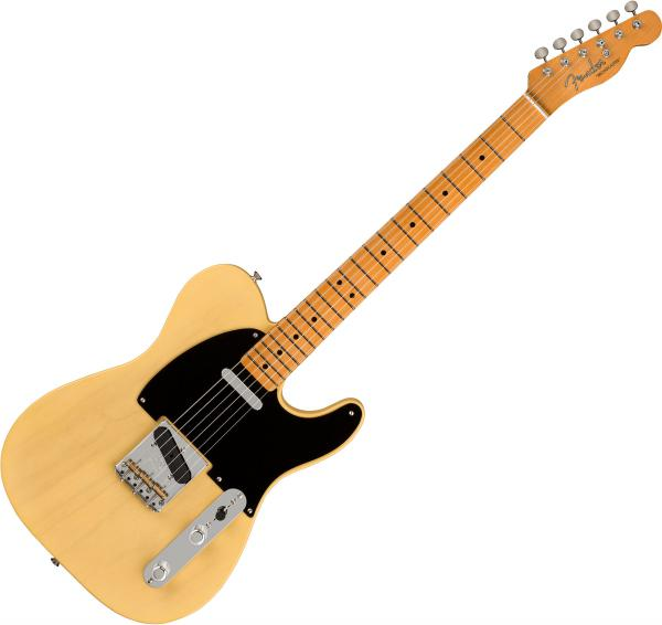 Guitare électrique solid body Fender Custom Shop 70th Anniversary Broadcaster Ltd - Time Capsule Faded Nocaster Blonde