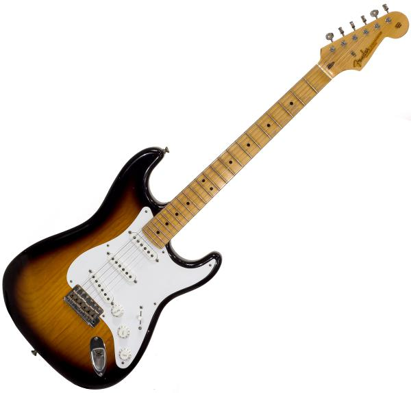image Custom Shop Eric Clapton Stratocaster MTBK - journeyman relic 2-color sunburst