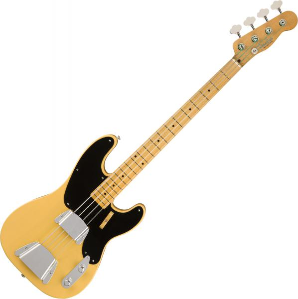 Basse électrique solid body Fender Custom Shop Vintage Custom 1951 Precision Bass (MN) - nos nocaster blonde