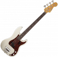 Basse électrique solid body Fender Custom Shop Sean Hurley Signature 1961 Precision Bass - Olympic white
