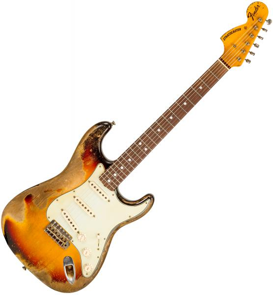 image Custom Shop Masterbuilt McMillin 1968 Stratocaster #R89925 - super heavy relic 3-color sunburst
