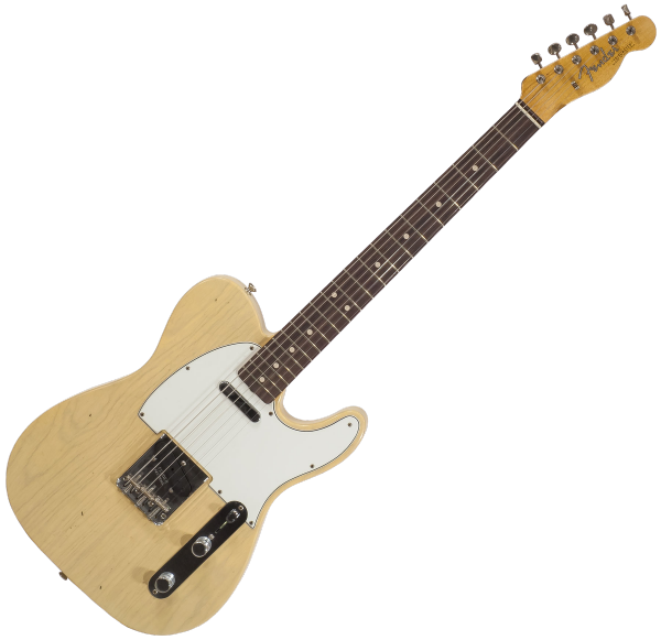 Guitare électrique solid body Fender Custom Shop 60's Telecaster Namm 2018 Ltd - aged honey blonde