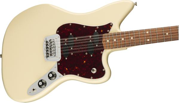 Guitare électrique solid body Fender Alternate Reality Electric XII (MEX, PF) - olympic white