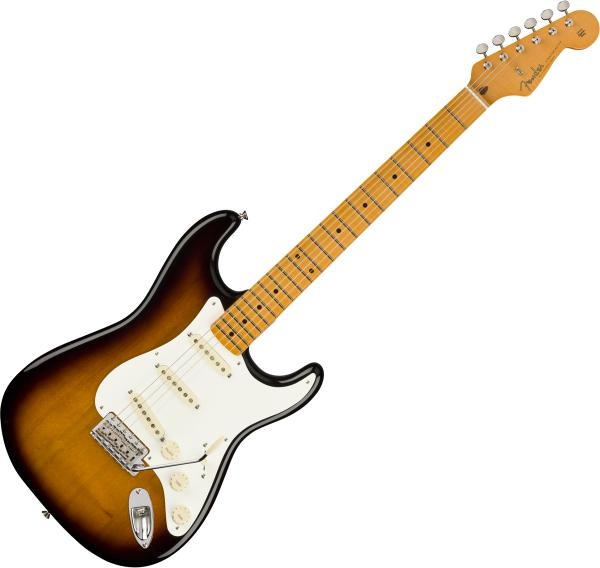 Guitare électrique solid body Fender Stories Collection Eric Johnson 1954 Virginia Stratocaster (USA, MN) - 2-color sunburst