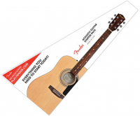 Pack guitare folk Fender FA-115 Pack - Natural